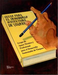 Portada Libro Guías para el Desarrollo Sustentable de Vieques