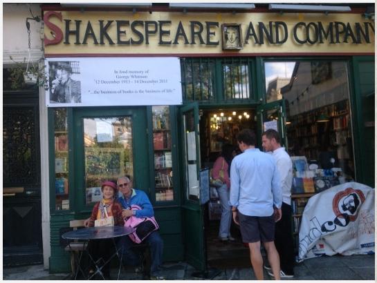 Shakespeare & Co: uno de nuestros lugares favoritos.