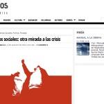 ARTICULOS: Movimientos Sociales, otra mirada a las crisis (80grados, Prensa Digital)