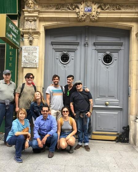 En el número 6bis Rue Châteaudon se encuentra el apartamento que sirvió de residencia y oficina a Betances en sus últimos años de vida, de 1881-98.