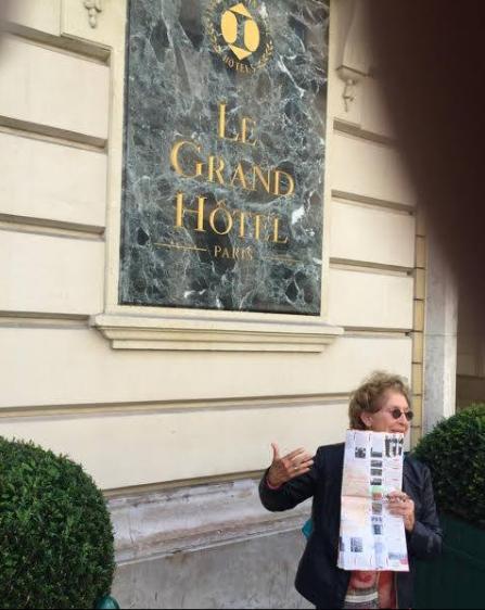 La Ruta Betances nos llevó a Le Grand Hotel.