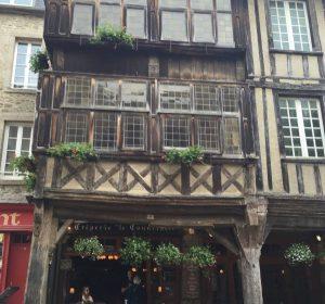 Detalle de una típica constricción bretona.