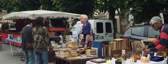 Para comprar libros y souvenirs siempre hay un tiempito.