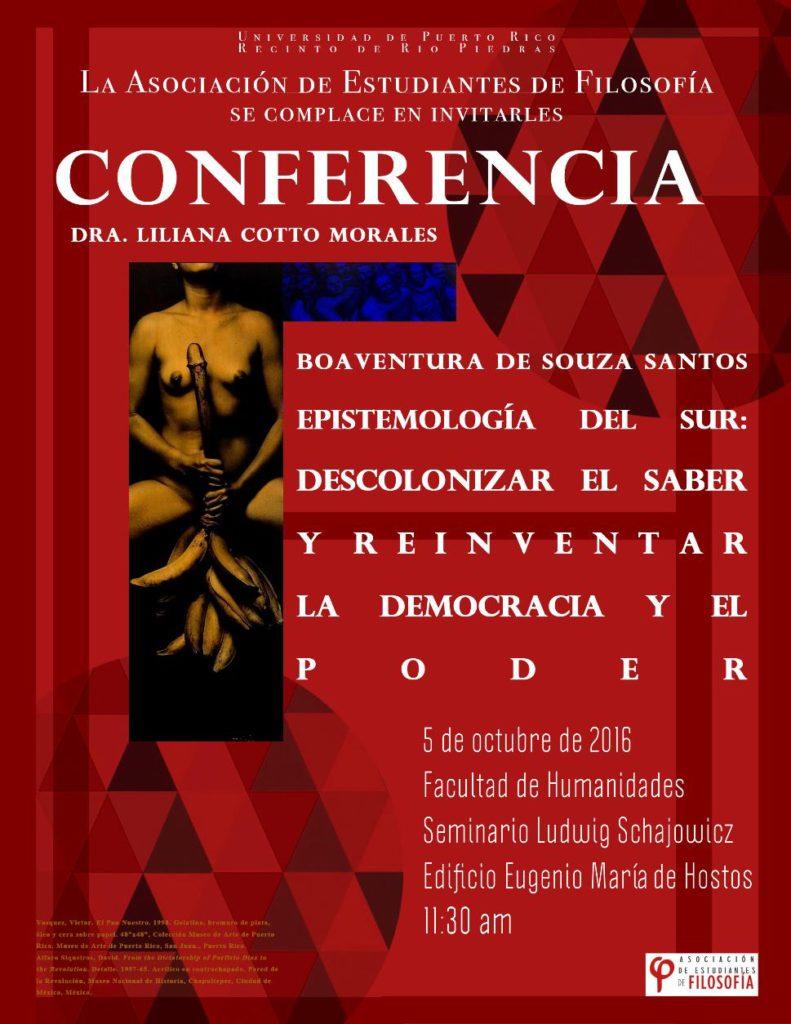 conferencia-boaventura-desouza-santos-liliana-cotto-morales
